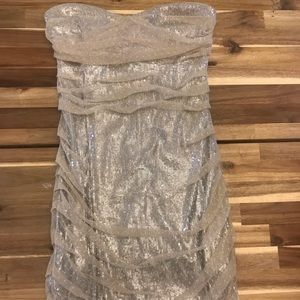 Small Express Strapless Dress